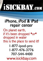 iPhone, iPad and iPod repairs - dropped in water, liquid immersion, broken glass LCD