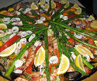 Paella With Wild Mushrooms Recipe — Dishmaps